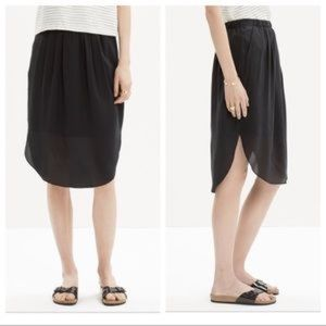 Madewell Silk Island Skirt
